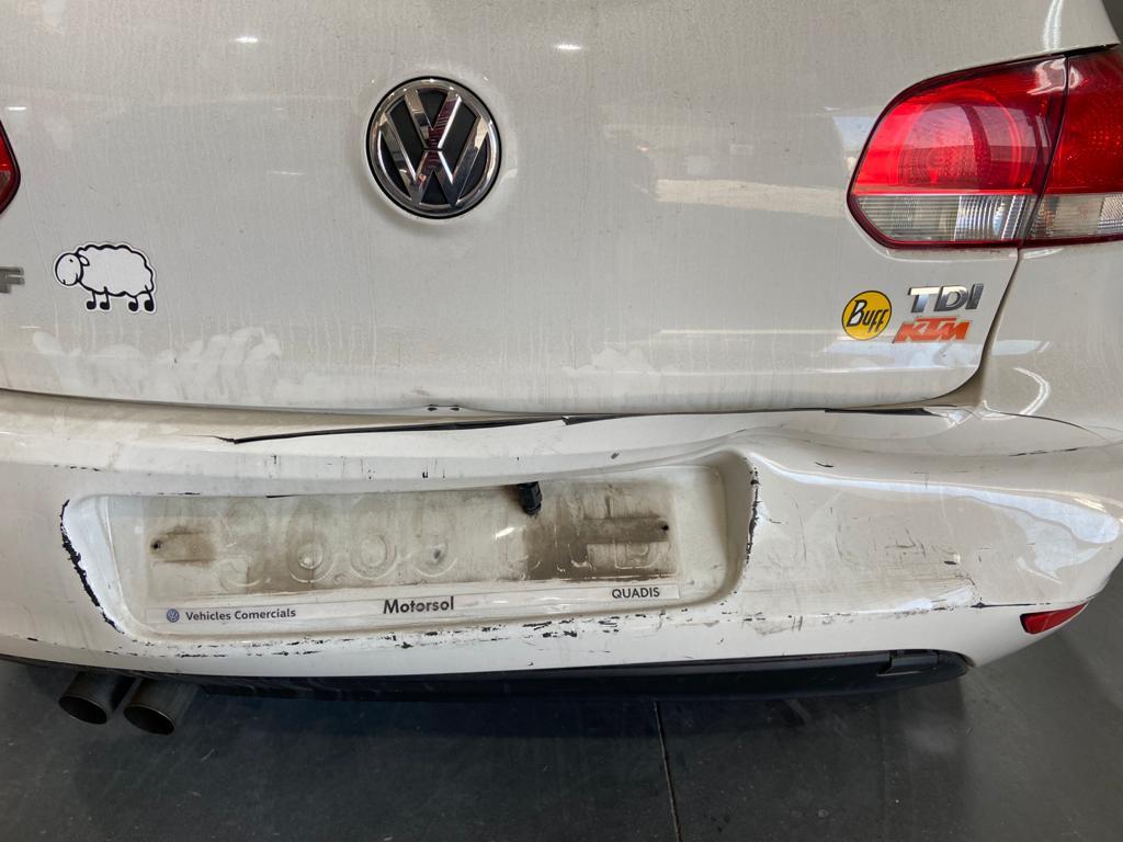 Examen daños en autoarenas